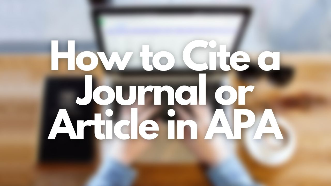 Cite My Title's APA Citation Article Guide featured image