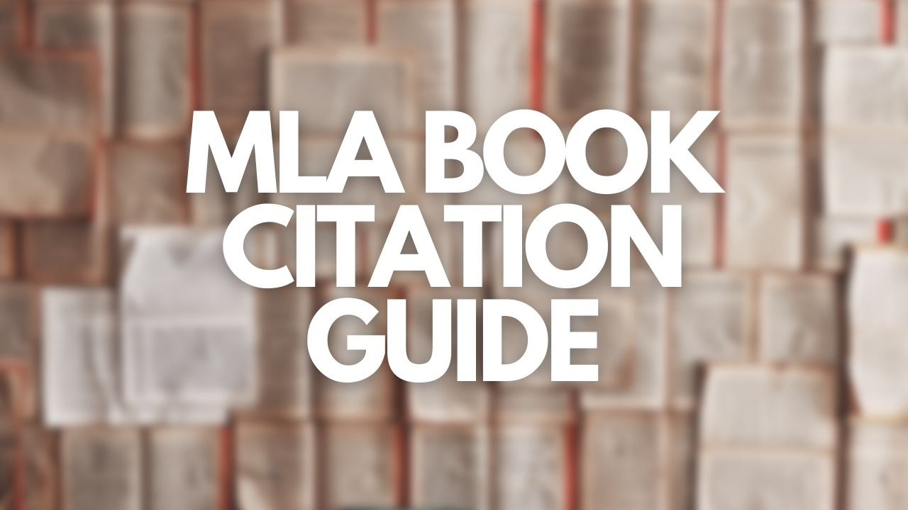 Featured image of Cite My Title's MLA Book Citation Guide