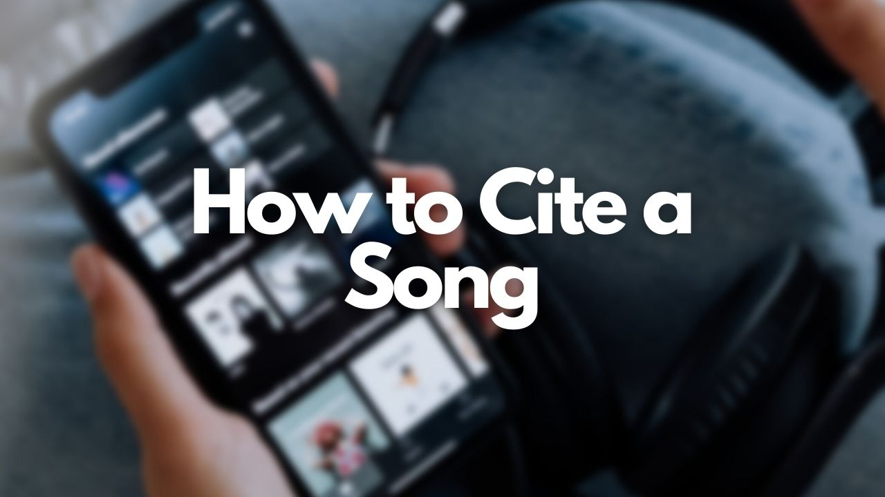 Cite My Title's featured image about how to cite a song